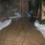 snow delivered to your home-for holiday party